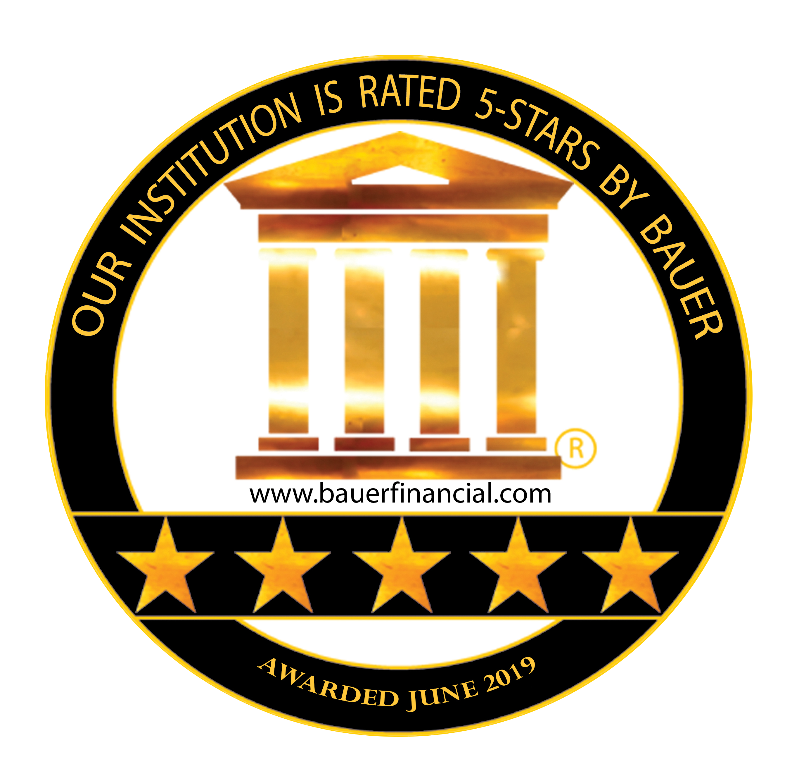 Central Credit Union Is 5 Star Rated By Bauer Financial